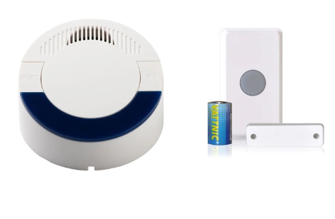 Long Range Wireless Doorbell and Door/Window Contact