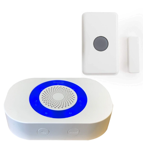 Long Range Wireless Doorbell, Door/Window Contact with Relay